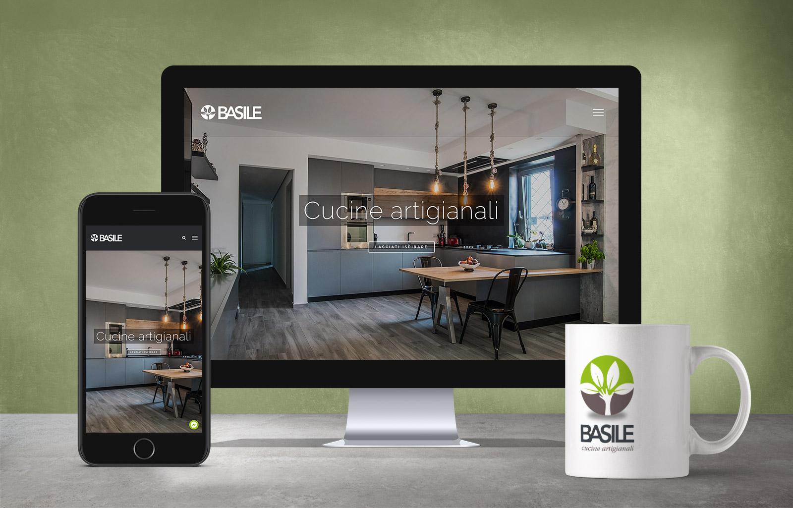sito web basile cucine Diego Favaretto Web designer