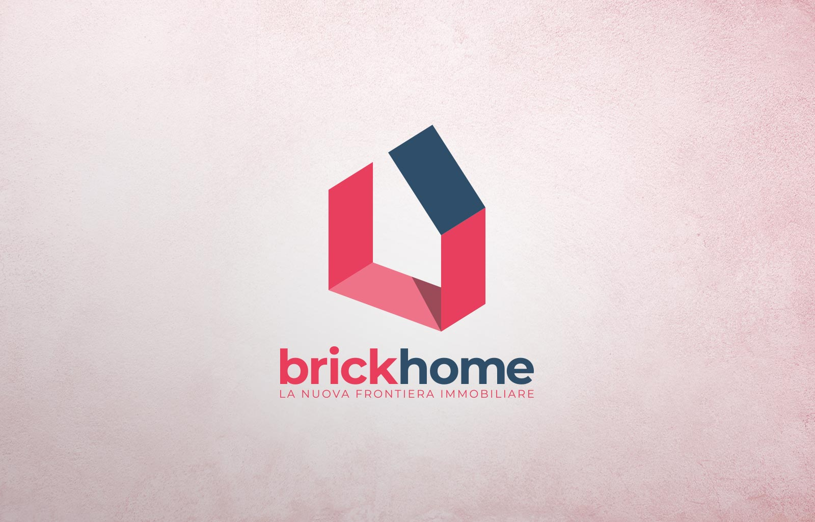 logo agenzia immobiliare brickhome Diego Favaretto Web designer
