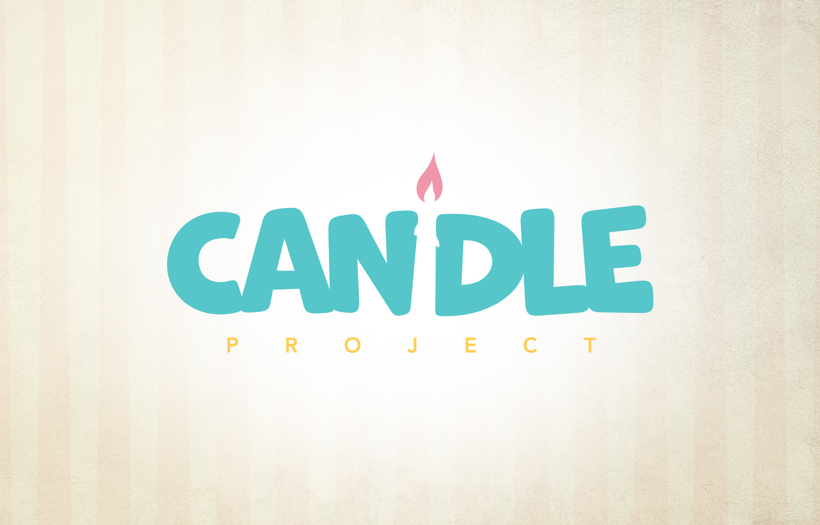 logo candle project Diego Favaretto Web designer
